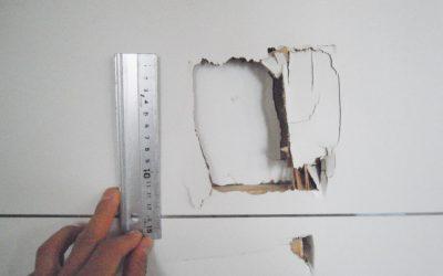 室内ドア穴キズ No.130523