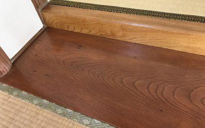 和室床板シミ・劣化再生 No.180903