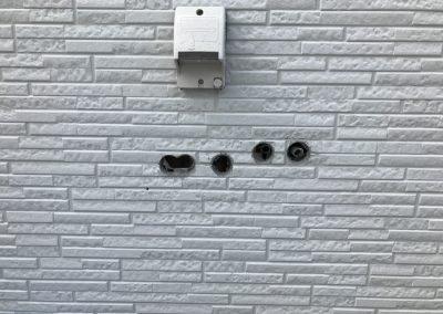 外壁サイディング穴リペア補修 No.BA170825