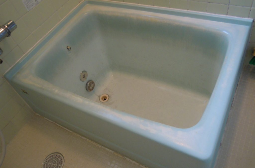 FRP浴槽クリーニング・リペア再生コーティング No.BA110421