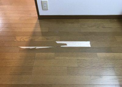 フローリング床表面劣化剥がれリペア補修 No.BA192016