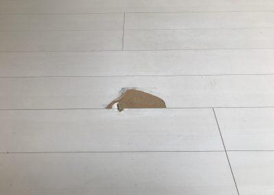 フローリング床表面シート剥がれリペア塗装補修 No.BA200410
