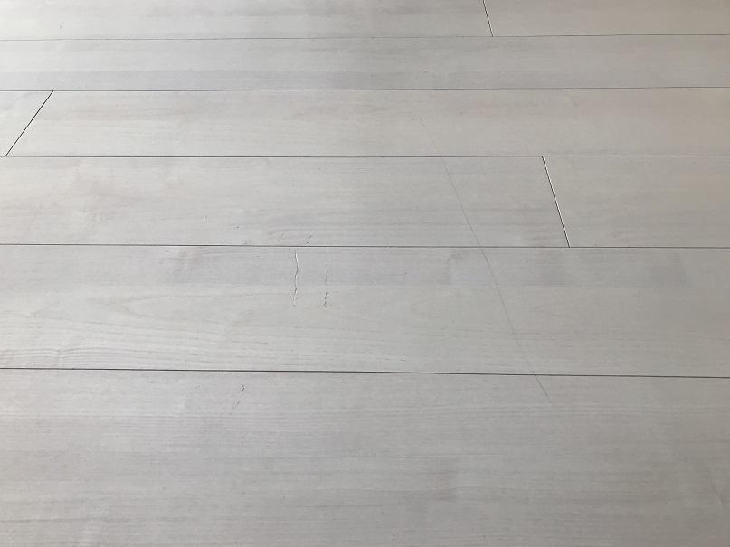 フローリング床すりキズ・引きキズ ぼかし塗装リペア補修 No.BA200418