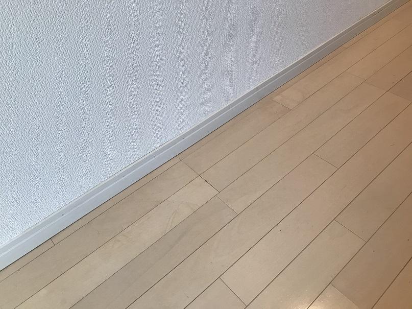 フローリング床 汚れシミ リペア補修 No.BA200421