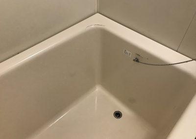 FRP浴槽ひび割れ・キズ 部分リペア補修 No.BA201011