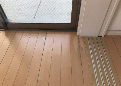 フローリング シミ・経年劣化 塗装リペア補修 No.BA210415